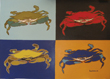 Pop Art Crabs